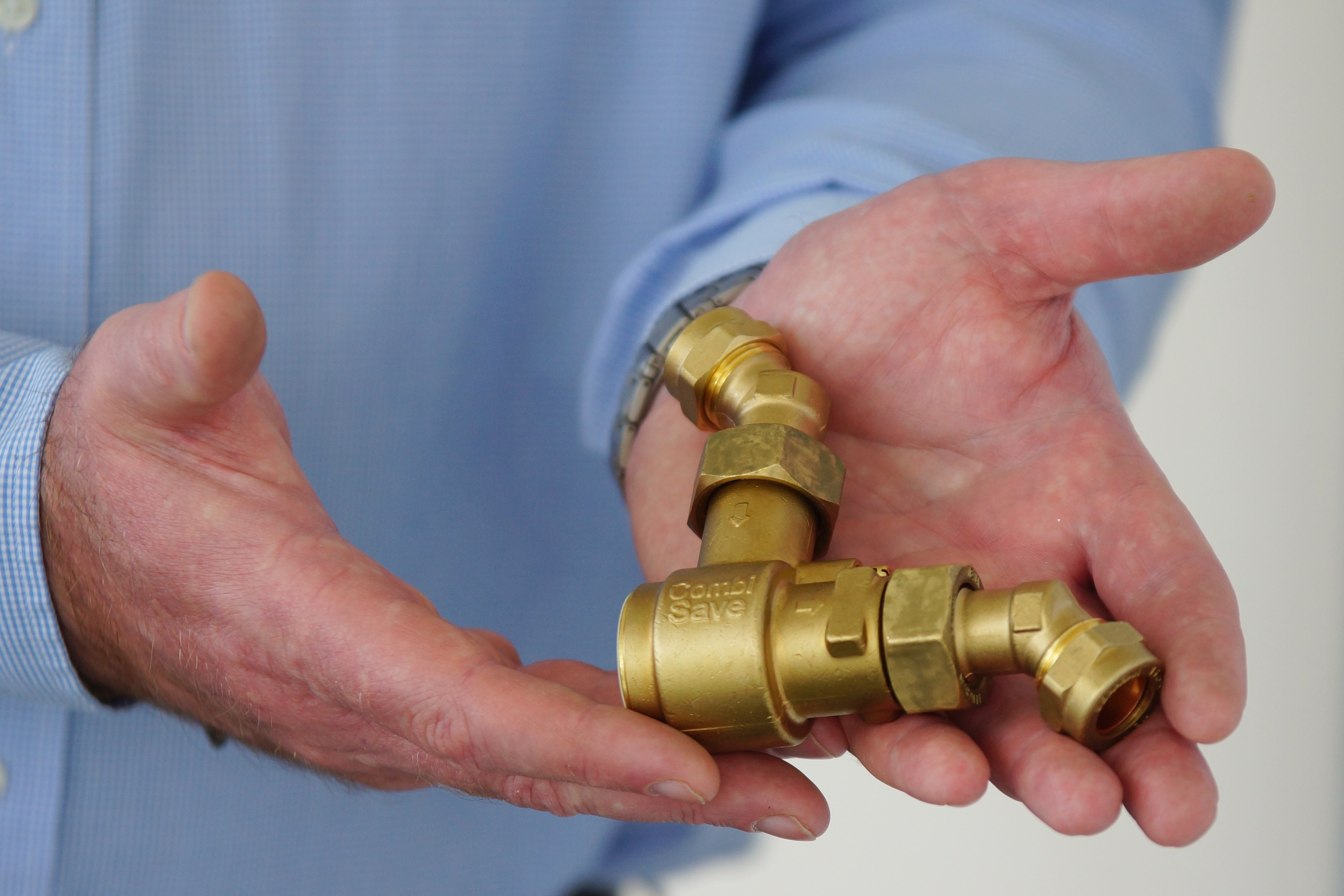Heatwave boost for water-saving CombiSave